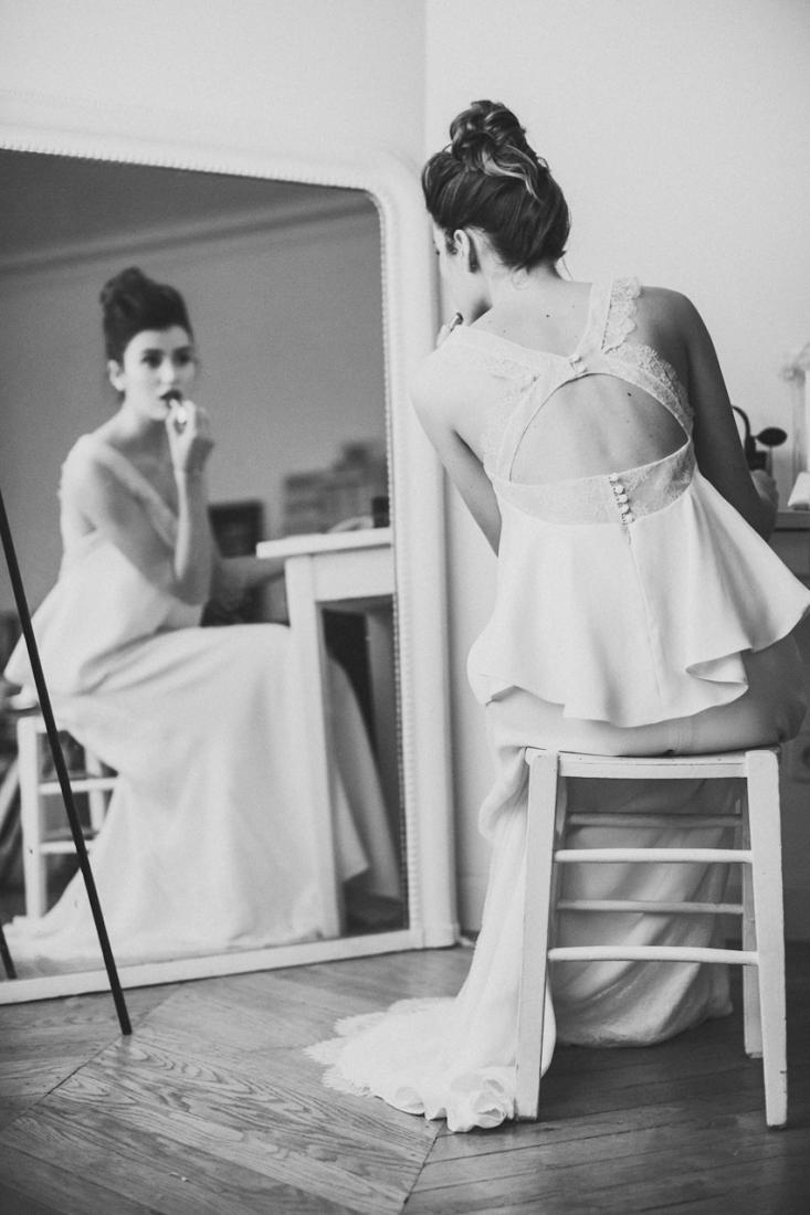 Sophie Sarfati robe de mariee creatrice a Paris - Stylisme La Fiancee du Panda - photos Yann Audic -shooting ambiance blog mariage-9672