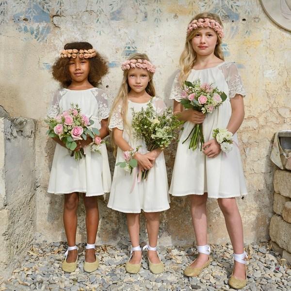 Tenues cortege mariage enfants d'honneur l Les petits inclassables - photo Eric Teissedre l La Fiancée du Panda blog mariage-2-6