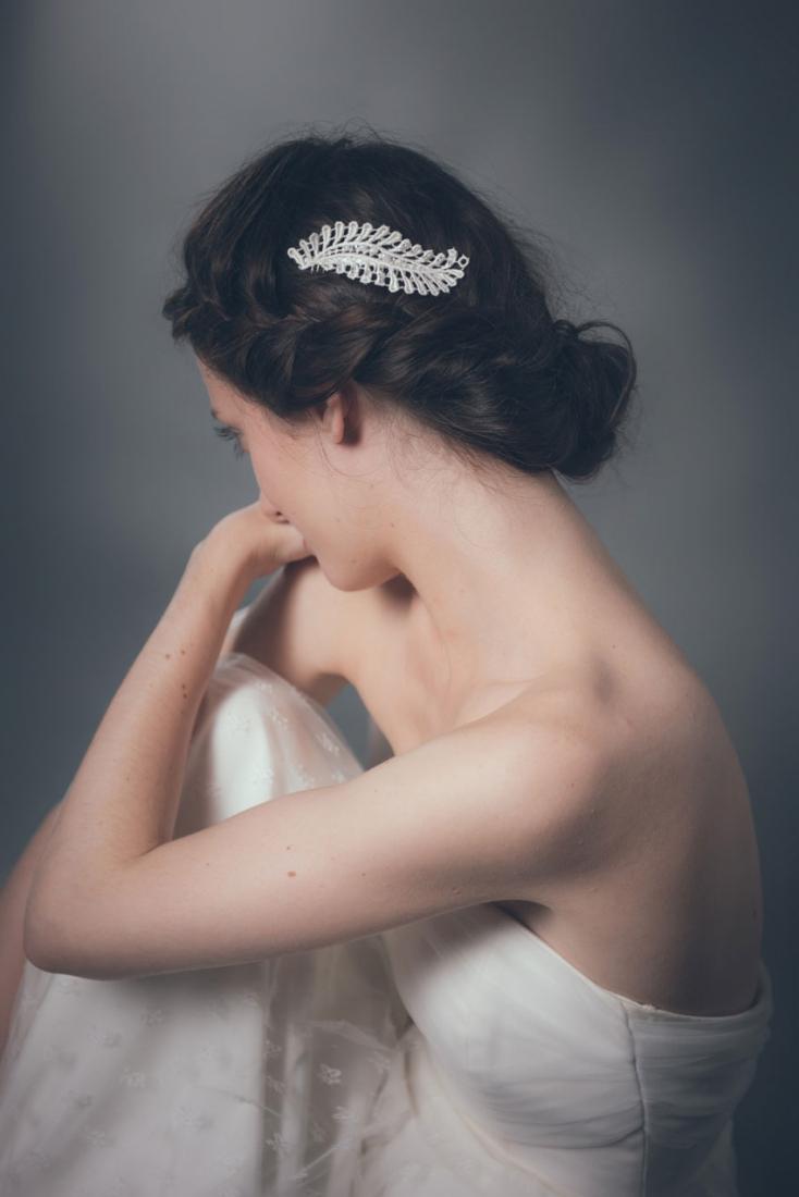 Bijoux de cheveux et accessoires mariage La Chambre Blanche l Studio Mennesson l La Fiancee du Panda blog mariage