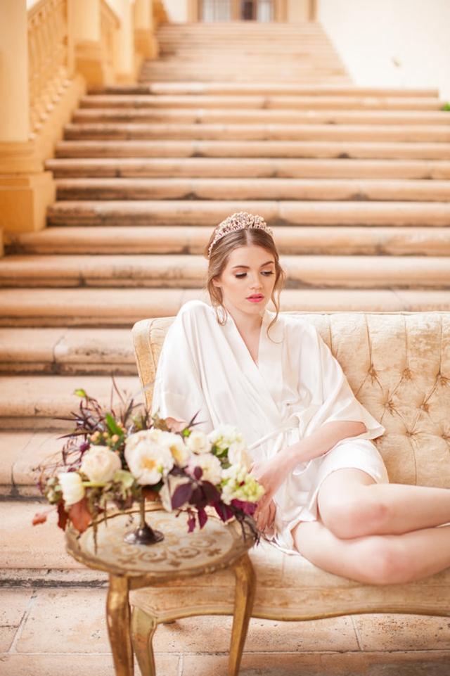 Kimono en soie mariee preparatifs l Etsy l La Fiancee du Panda blog mariage
