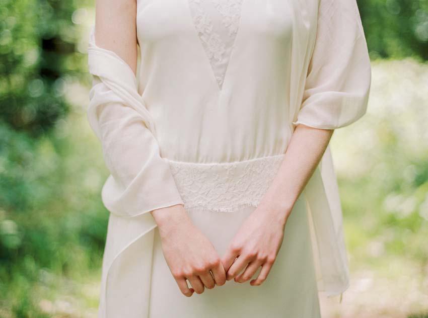 Robe de mariee sur mesure creatrice Stephanie Wolff Paris collection 2016 l La Fiancee du Panda blog mariage