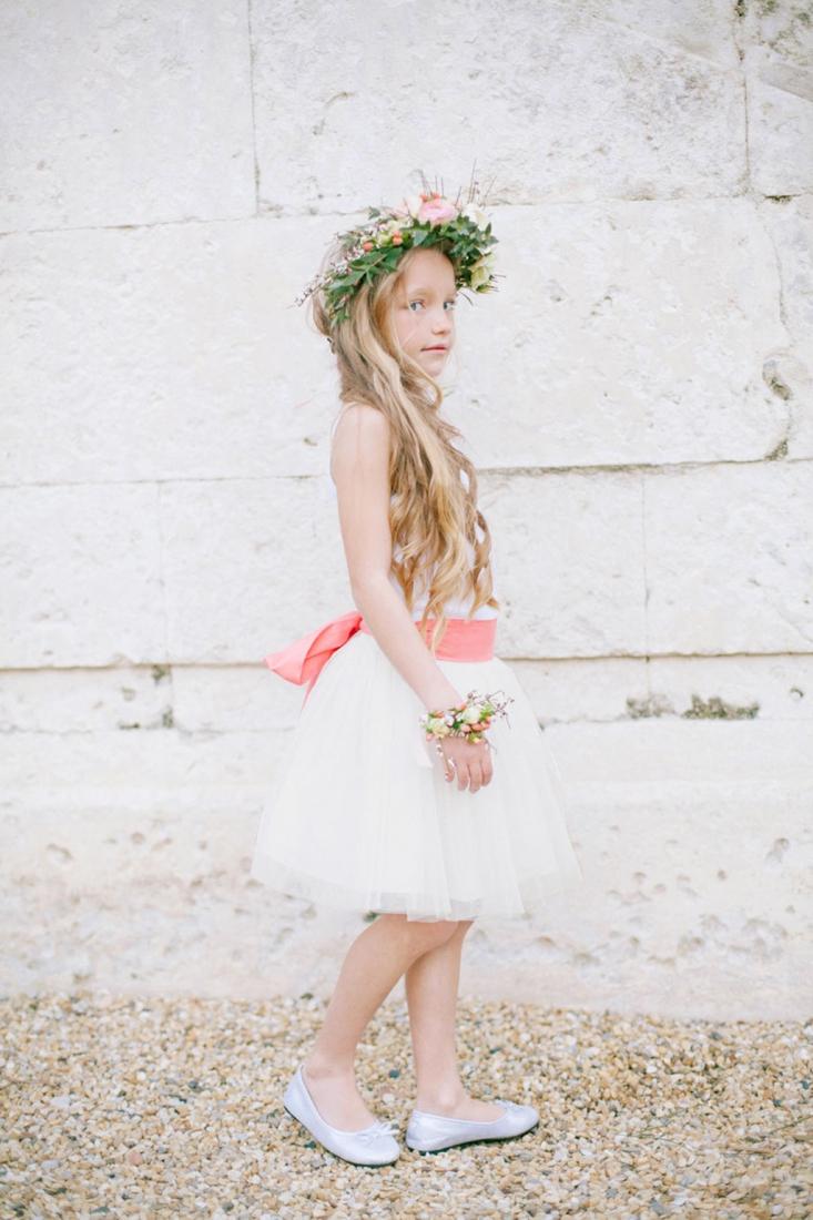 Robe demoiselle d'honneur ceinture corail Les Petits Inclassables l Photographe Alex Tome l La Fiancee du Panda blog mariage