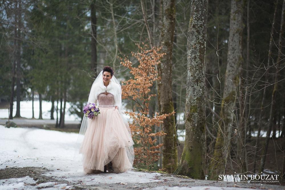 Mariage a Chamonix montagne hiver l Photographe Sylvain Bouzat l La Fiancee du Panda blog mariage--17