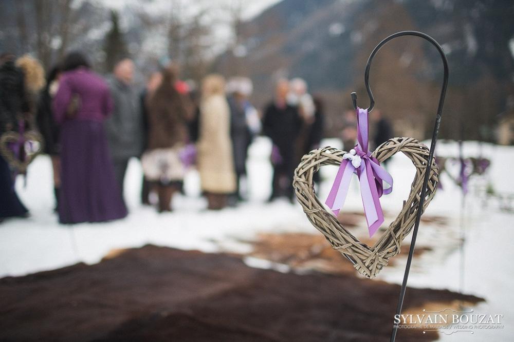 Mariage a Chamonix montagne hiver l Photographe Sylvain Bouzat l La Fiancee du Panda blog mariage--29