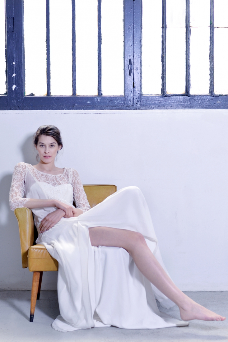 Choisir sa Robe de mariee dentelle Stephanie Wolff Paris l La Fiancee du Panda blog mariage