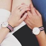 Idee cadeaux de St Valentin pour lui montre Daniel Wellington l La Fiancee du Panda blog mariage