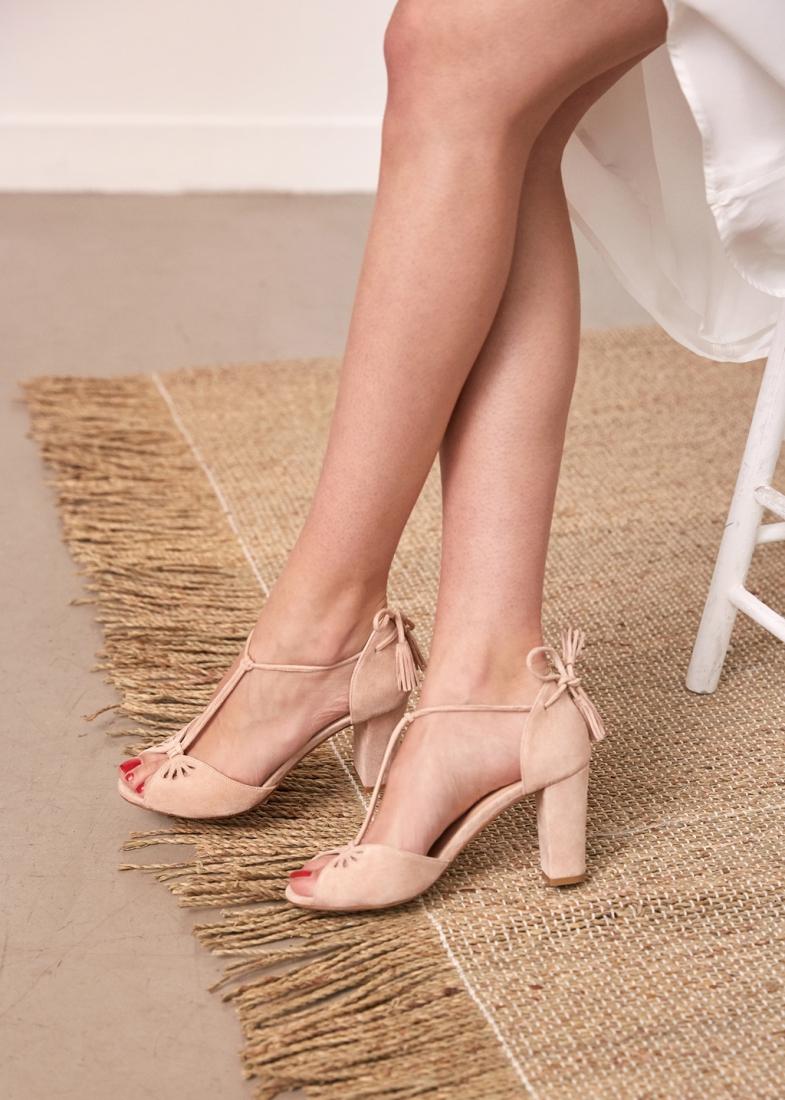 Sezane chaussures mariage Laure de Sagazan l La Fiancee du Panda blog mariage