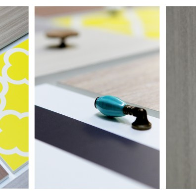 DRAWER PULLS & KNOBS TRYPTIC