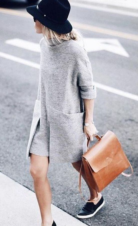 robe grise 2