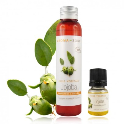 huile de jojoba- belle peau