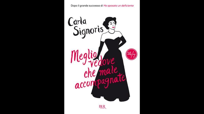 Libro di Carla Signoris, attrice, moglie di Maurizio Crozza.