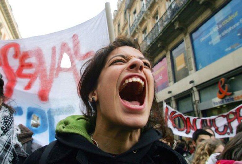 femminista urla