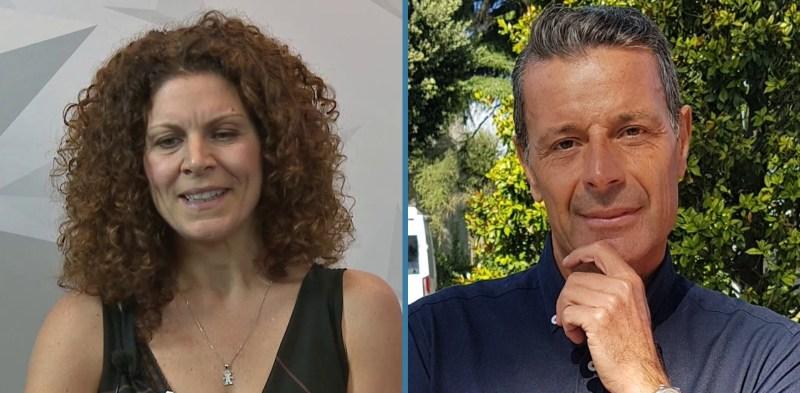 Laura Massaro e Giuseppe Apadula