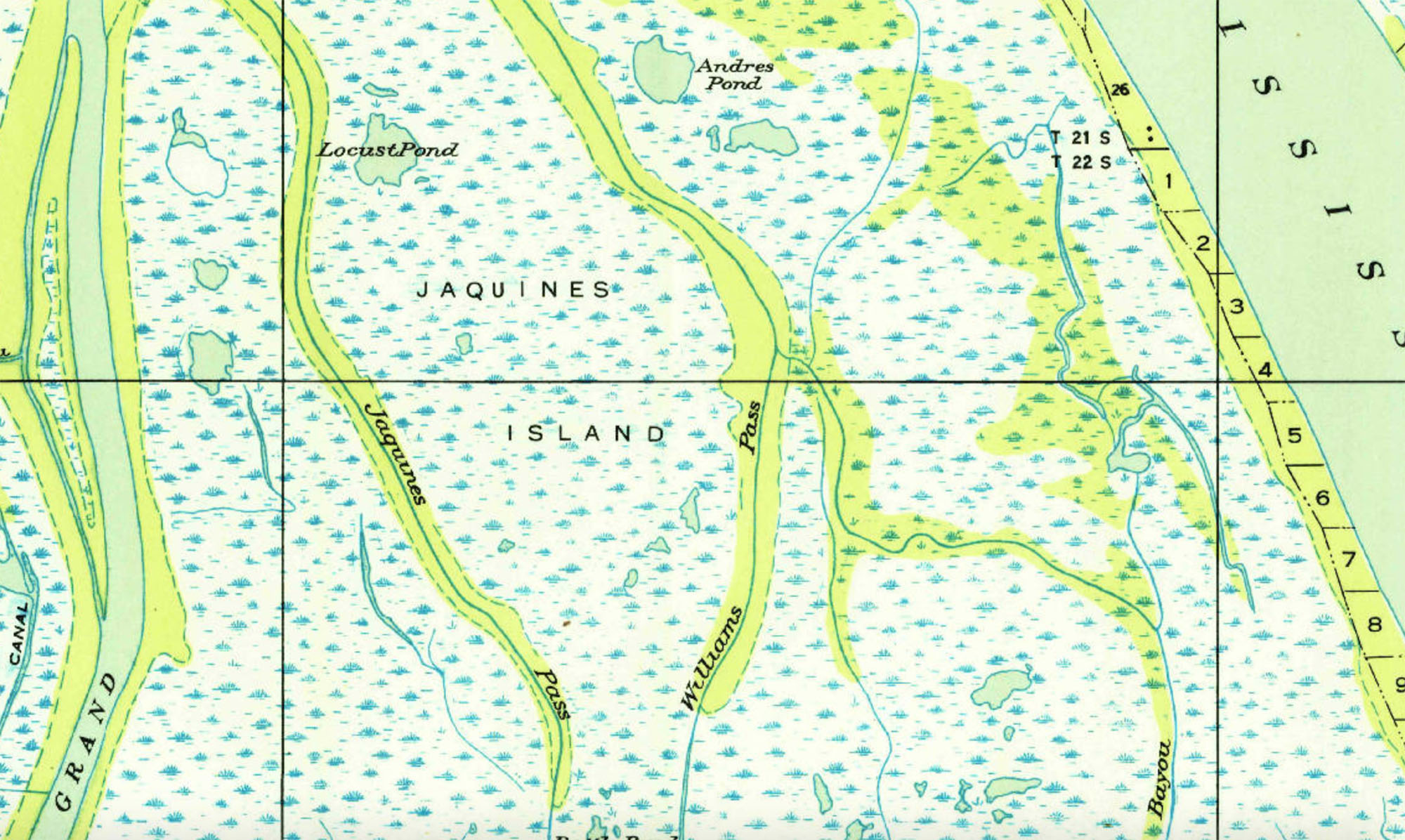 Use This Convenient Resource To Find Old Louisiana Maps