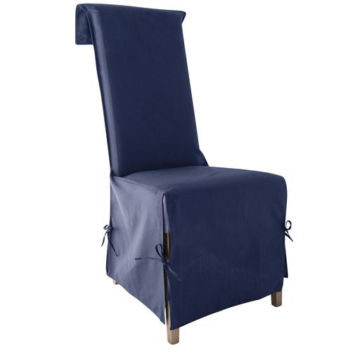housse de chaise panama 40 x 40 x 72 cm 100 coton