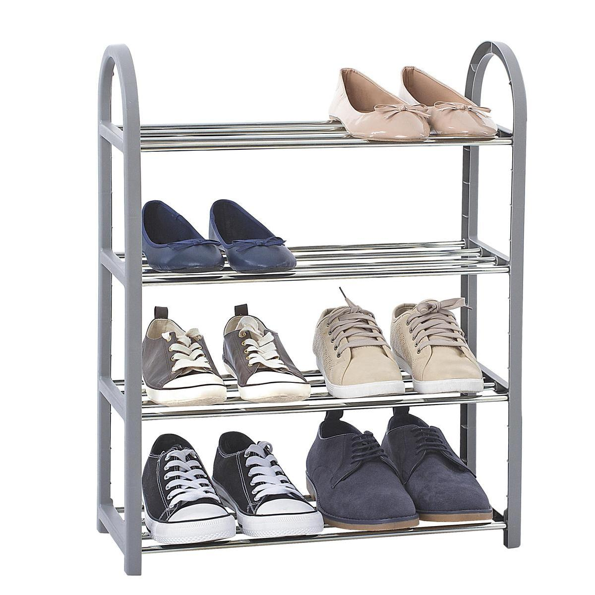 meuble range chaussures 8 paires
