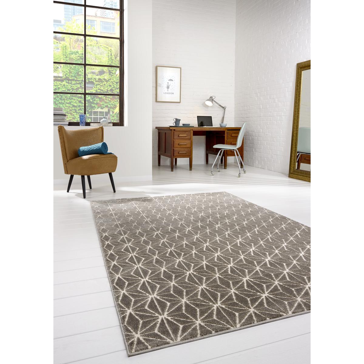 tapis 100 x 150 cm gris tapis