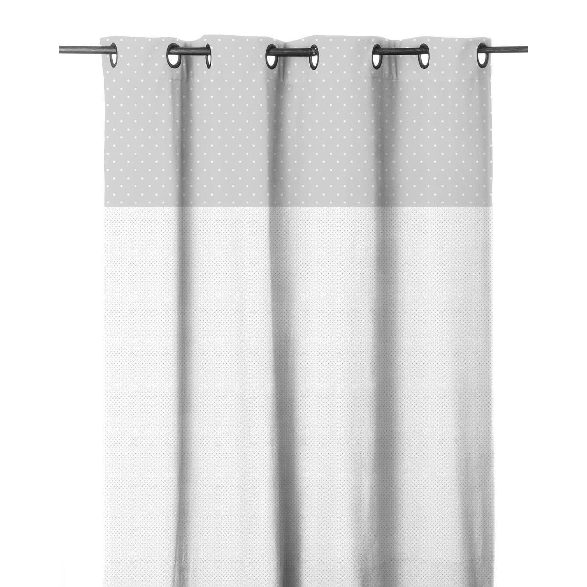 voilage blanc gris rideaux et