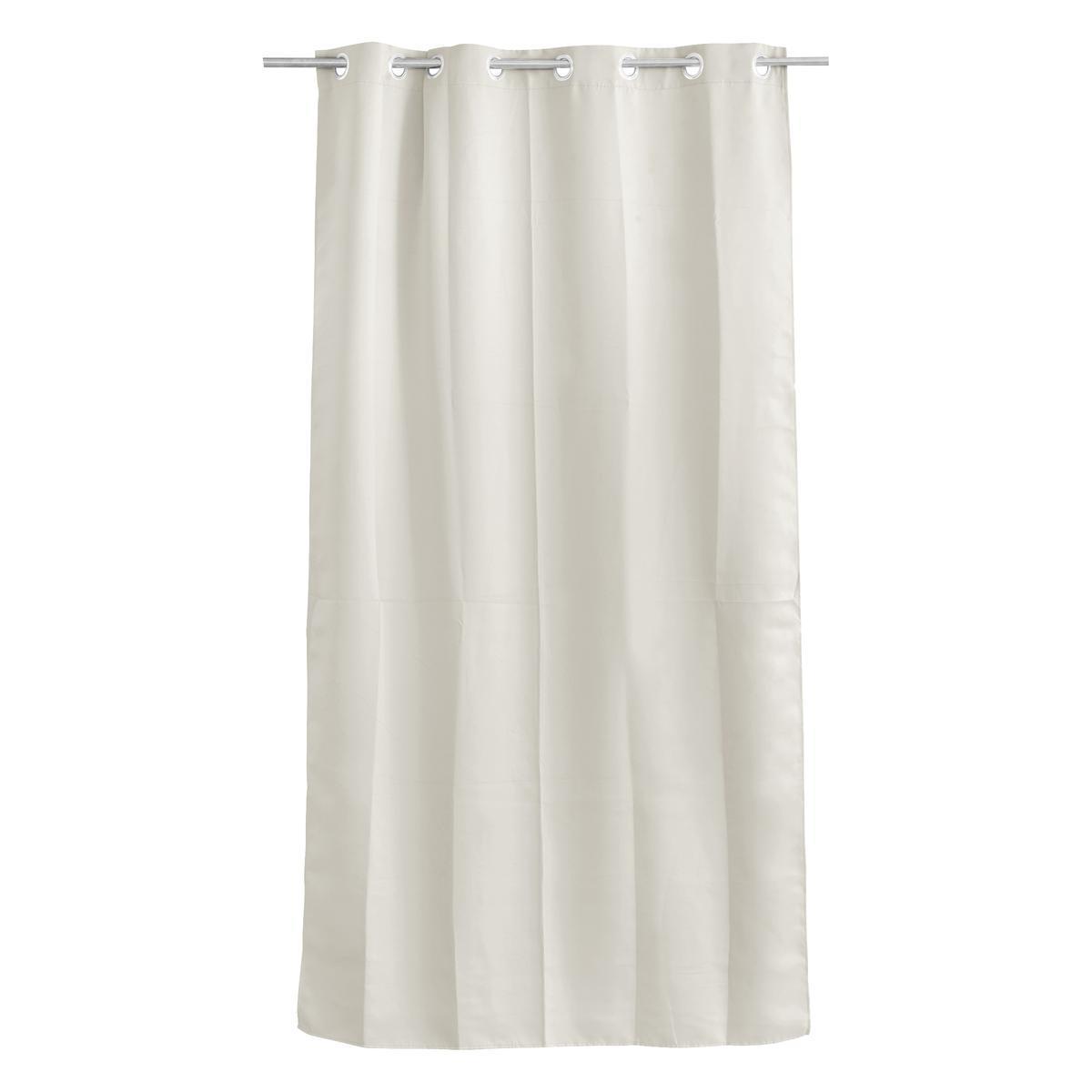 rideau occultant 135 x 180 cm blanc