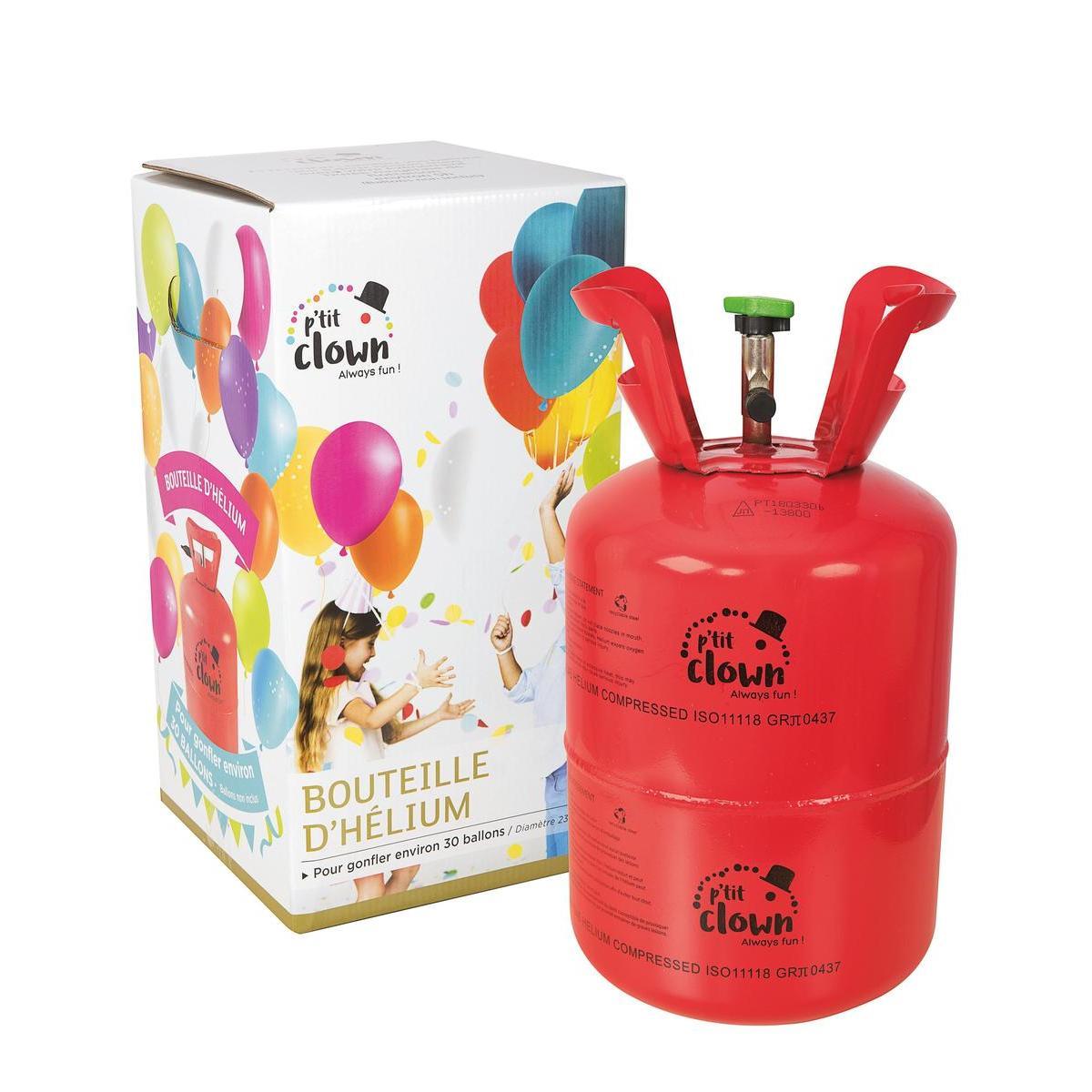 Bouteille D Helium Jetable 30 Ballons Rouge Ballon De Baudruche La Foir Fouille