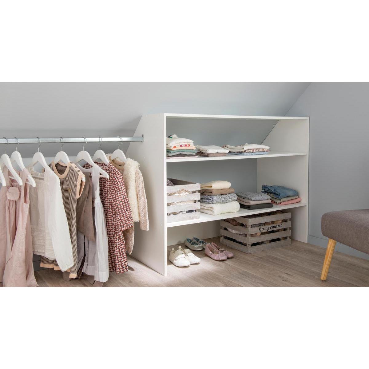 Kit Dressing Blanc Je M Installe A Petit Prix La Foir Fouille