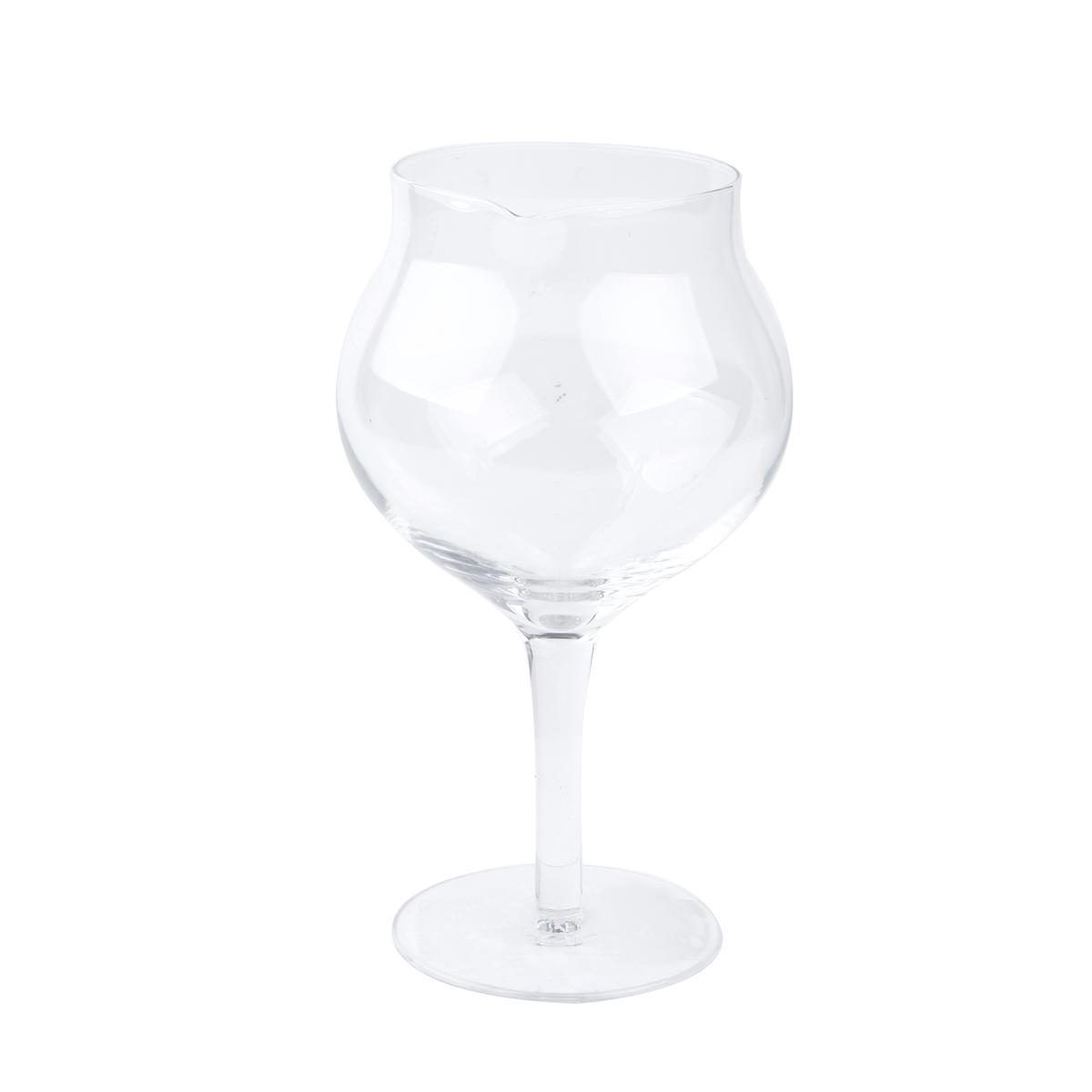 carafe a decanter forme verre a pied