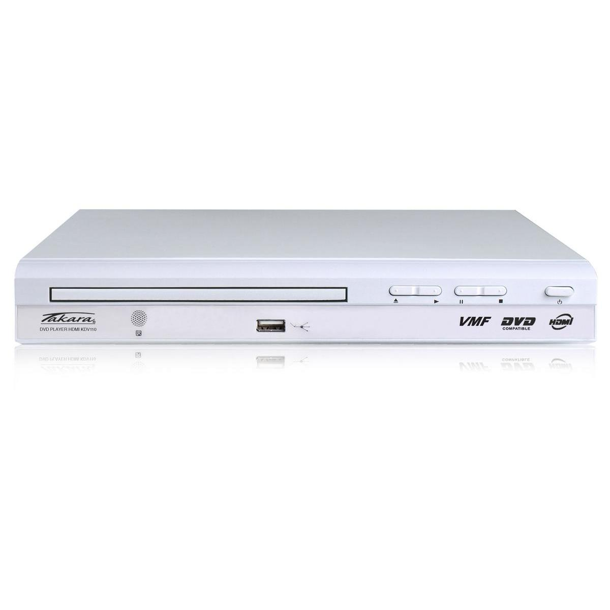 lecteur dvd et dvd blanc hifi video