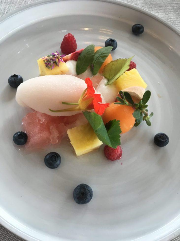 Desert - fruits, freshness
