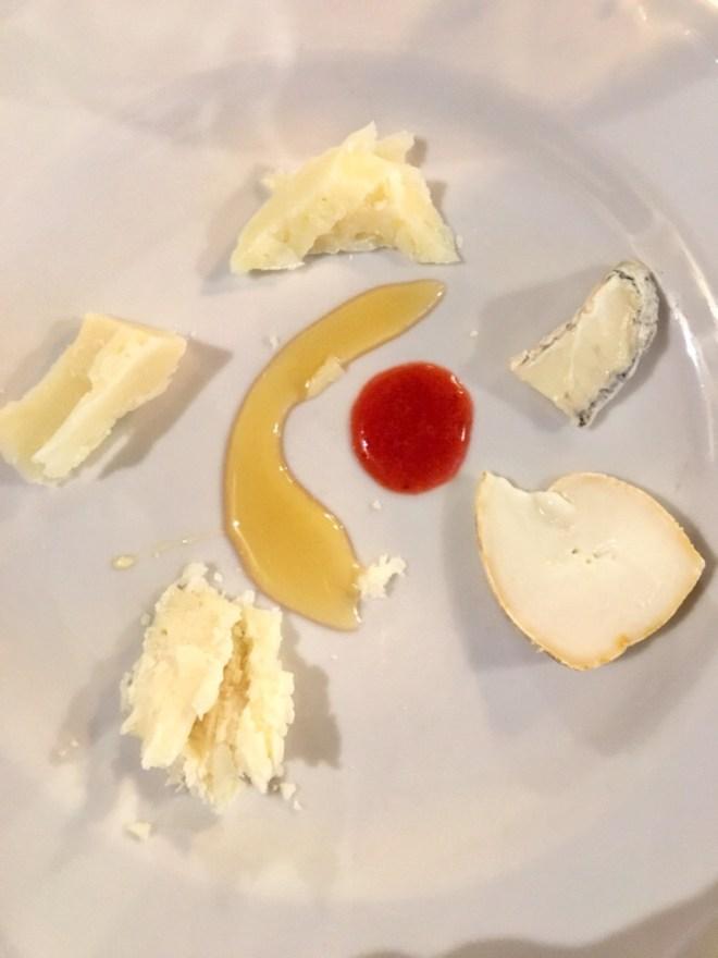 cheese plateau Zazzeri Locanda del sole