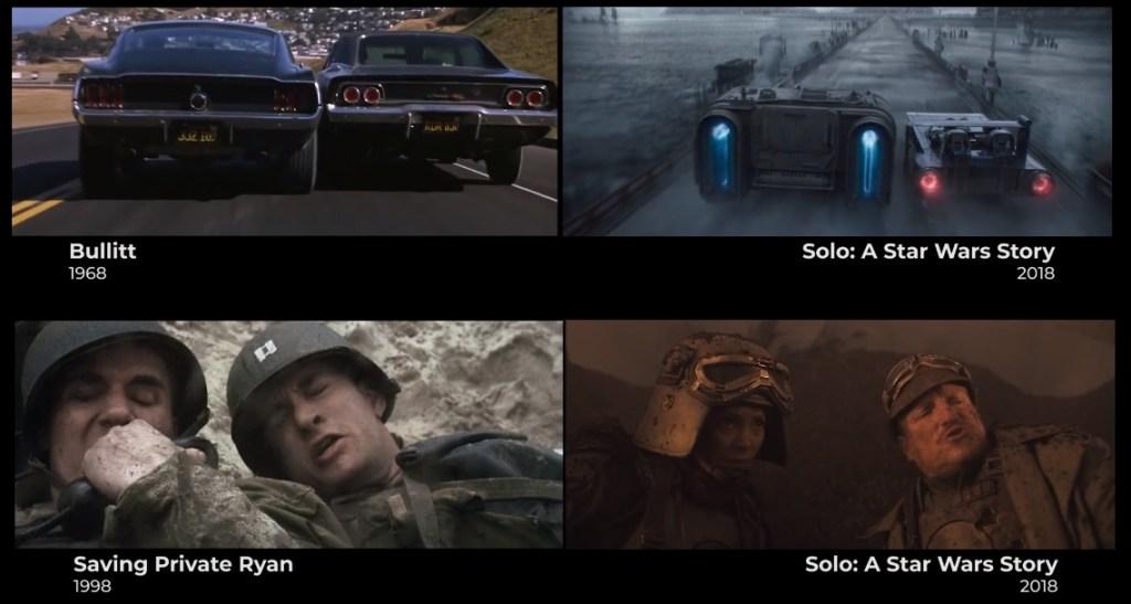 """Homenajes y referencias cinematográficas de """"Han Solo: Una Historia de Star Wars"""""""