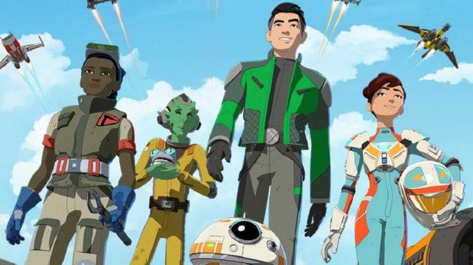 protagonistas de star wars resistance