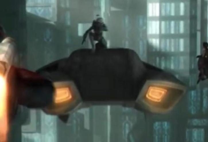 The Mandalorian speeder