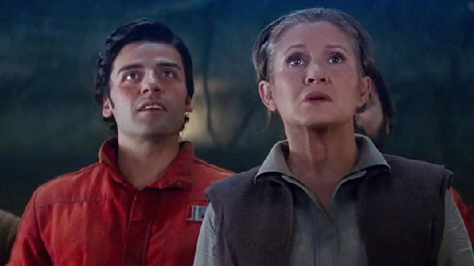 Episodio IX: Oscar Isaac habla sobre Carrie Fisher y el emotivo final con Anthony Daniels