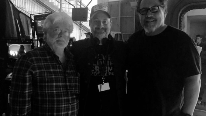 The Mandalorian George Lucas Dave Filoni Jon Favreau