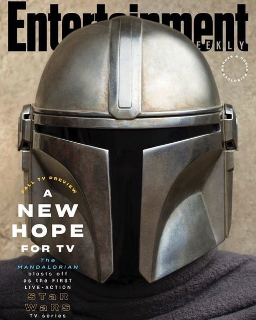 The Mandalorian Entertainment Weekly