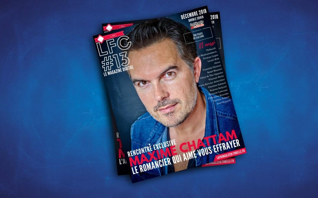 LFC Magazine #13 I Maxime Chattam