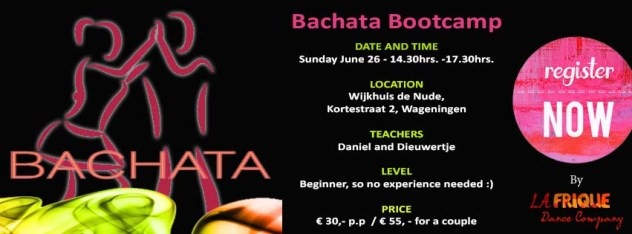 12062016 Bootcamp Bachata june 26
