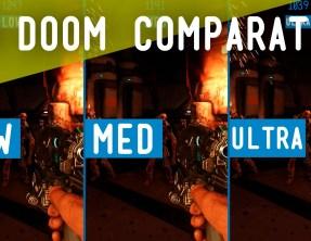 DOOM :: Comparativa gráfica y FPS por Benchmark Hardware