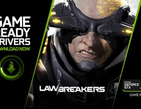Drivers Game Ready para la versión beta de Lawbreakers Rise Up!