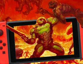 Ya está disponible DOOM para Nintendo Switch