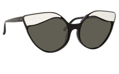 Gafas oversize de Linda Farrow