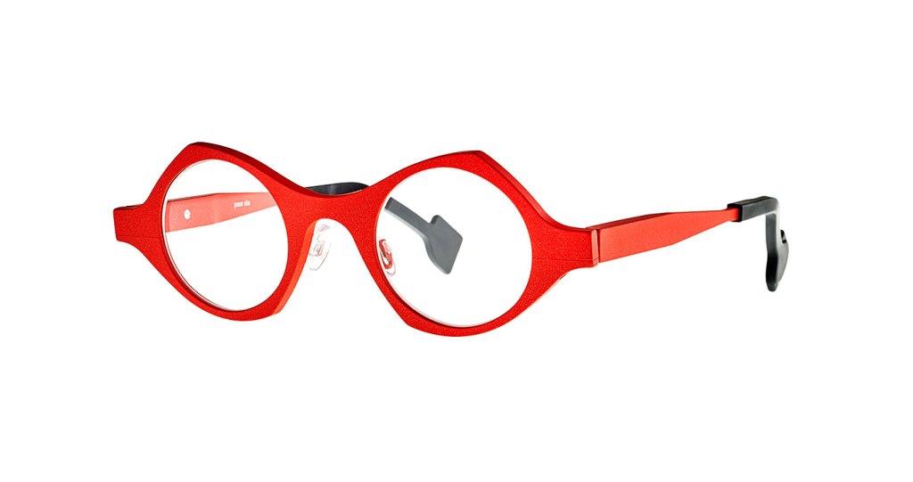Gafas de aluminio irresistibles