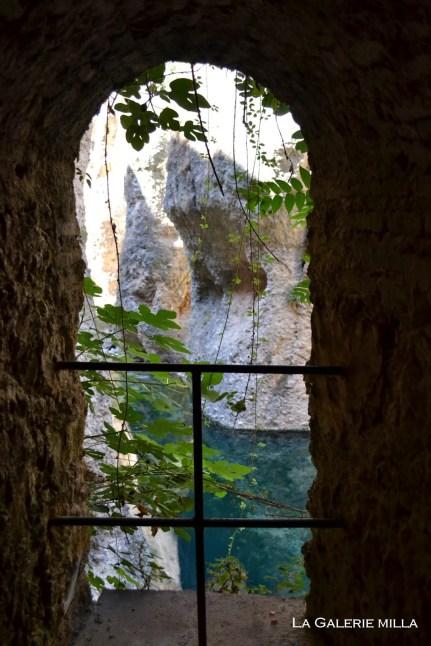 vue sur la rivieère sous la mina