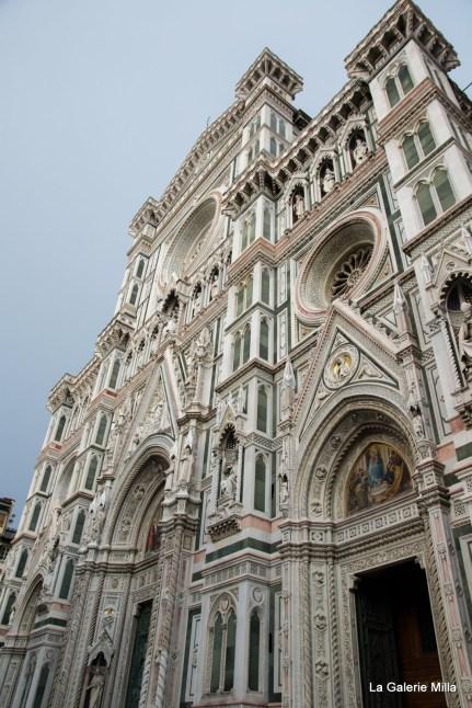 Vue de face du Duomo