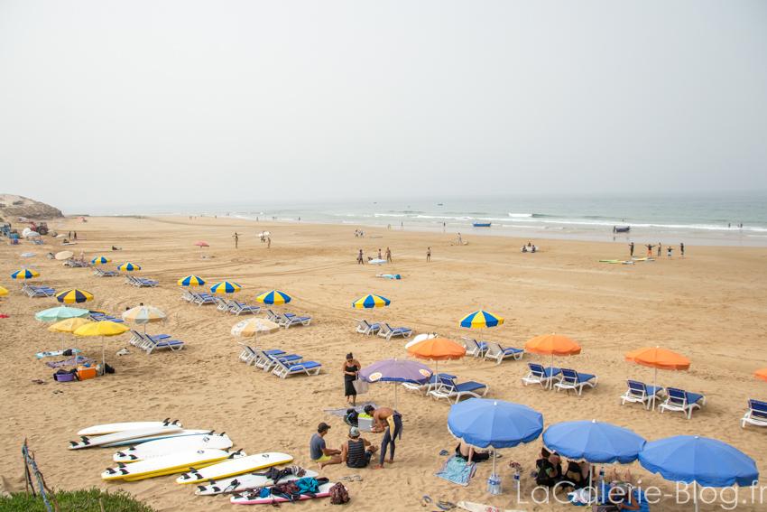 SURF A TAGHAZOUT, Maroc