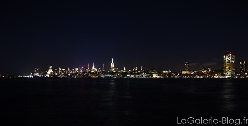 vue de nuit Manhattan