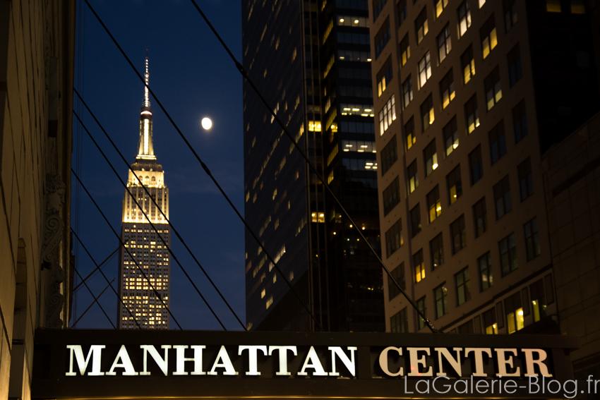 vue de m'empire state building de nuit