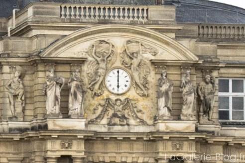 horloge du palais du luxembourg