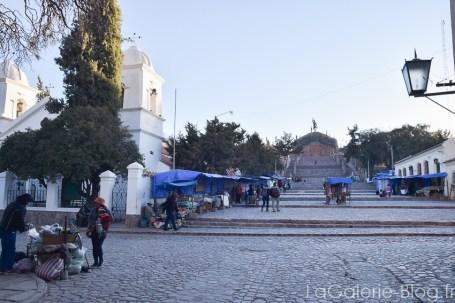 place centrale de humahuaca, jujuy, argentine
