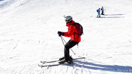 position skieur en arrière - mauvaise